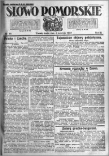Słowo Pomorskie 1923.04.04 R.3 nr 76