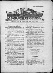 Zdrój Ciechociński 1928, R. 15 nr 15