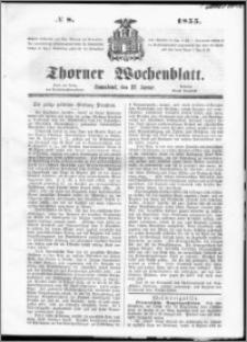 Thorner Wochenblatt 1855, No. 8