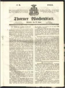 Thorner Wochenblatt 1855, No. 9