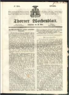 Thorner Wochenblatt 1855, No. 24