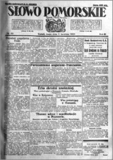 Słowo Pomorskie 1923.04.11 R.3 nr 82