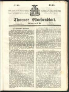 Thorner Wochenblatt 1855, No. 35
