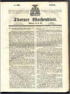 Thorner Wochenblatt 1855, No. 39
