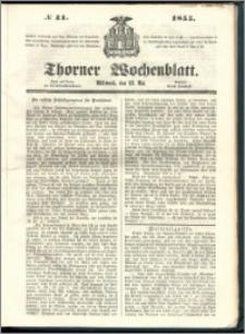 Thorner Wochenblatt 1855, No. 41