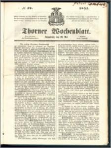 Thorner Wochenblatt 1855, No. 42