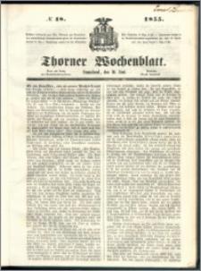 Thorner Wochenblatt 1855, No. 48
