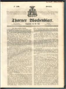 Thorner Wochenblatt 1855, No. 50