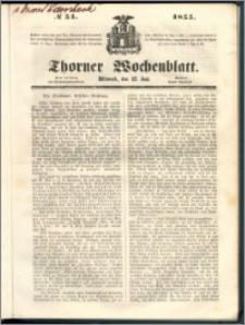 Thorner Wochenblatt 1855, No. 51