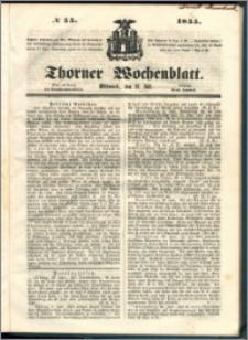 Thorner Wochenblatt 1855, No. 55