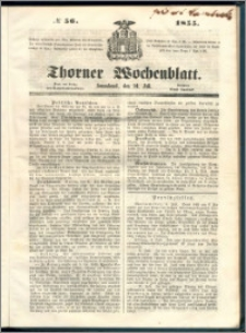 Thorner Wochenblatt 1855, No. 56