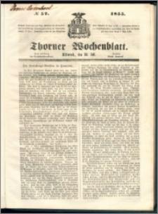 Thorner Wochenblatt 1855, No. 57