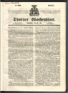 Thorner Wochenblatt 1855, No. 60