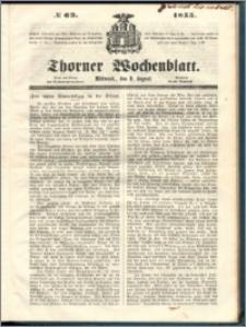 Thorner Wochenblatt 1855, No. 63