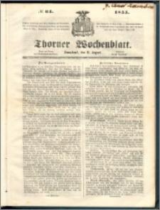 Thorner Wochenblatt 1855, No. 64