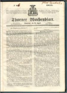 Thorner Wochenblatt 1855, No. 66