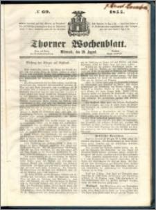 Thorner Wochenblatt 1855, No. 69