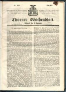 Thorner Wochenblatt 1855, No. 73