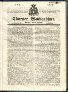 Thorner Wochenblatt 1855, No. 75