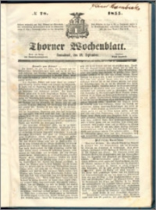 Thorner Wochenblatt 1855, No. 78