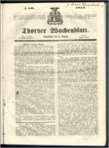 Thorner Wochenblatt 1855, No. 80