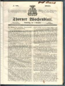 Thorner Wochenblatt 1855, No. 88