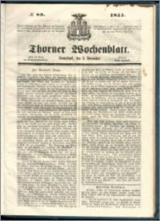 Thorner Wochenblatt 1855, No. 89