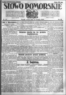 Słowo Pomorskie 1923.04.14 R.3 nr 85