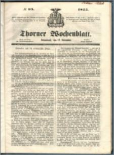 Thorner Wochenblatt 1855, No. 93