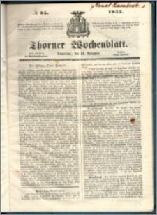 Thorner Wochenblatt 1855, No. 95