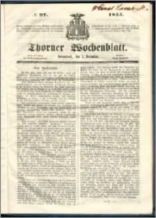 Thorner Wochenblatt 1855, No. 97