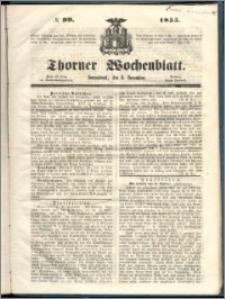 Thorner Wochenblatt 1855, No. 99