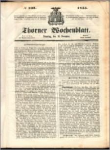Thorner Wochenblatt 1855, No. 102
