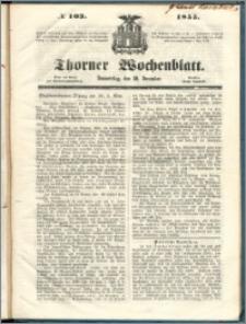Thorner Wochenblatt 1855, No. 103