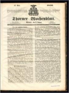 Thorner Wochenblatt 1856, No. 11