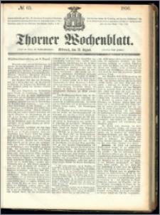 Thorner Wochenblatt 1856, No. 65
