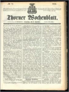 Thorner Wochenblatt 1856, No. 72