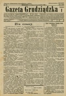 Gazeta Grudziądzka 1925.04.21 R. 31 nr 46