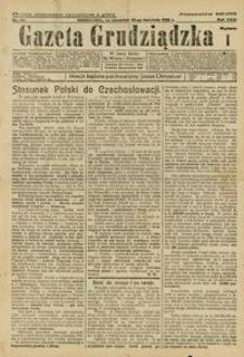 Gazeta Grudziądzka 1925.04.30 R. 31 nr 50