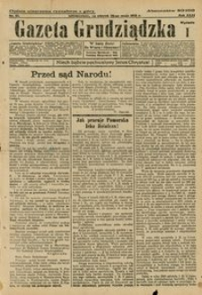 Gazeta Grudziądzka 1925.05.26 R. 31 nr 61