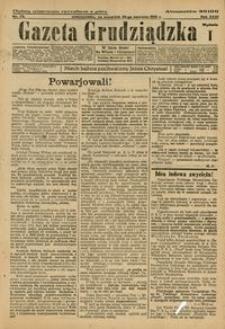 Gazeta Grudziądzka 1925.06.25 R. 31 nr 73