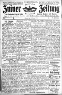 Zniner Zeitung 1915.01.13 R. 28 nr 4