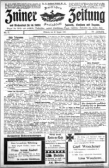 Zniner Zeitung 1915.01.20 R. 28 nr 6