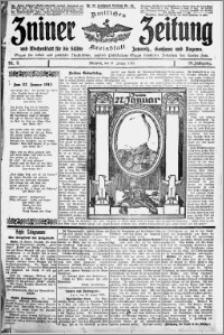 Zniner Zeitung 1915.01.27 R. 28 nr 8