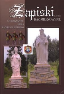 Zapiski Kazimierzowskie 2012 nr 9