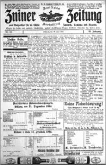 Zniner Zeitung 1915.06.30 R. 28 nr 52