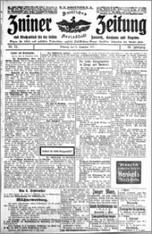 Zniner Zeitung 1915.09.15 R. 28 nr 74