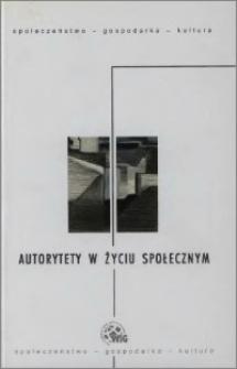 Autorytety w życiu społecznym. [T. 2]