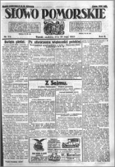 Słowo Pomorskie 1923.05.20 R.3 nr 114