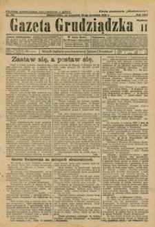 Gazeta Grudziądzka 1925.09.25 R. 30 nr 112